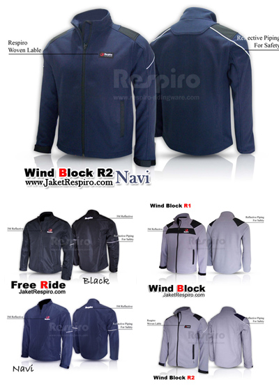 Jaket Free Ride & Windblock