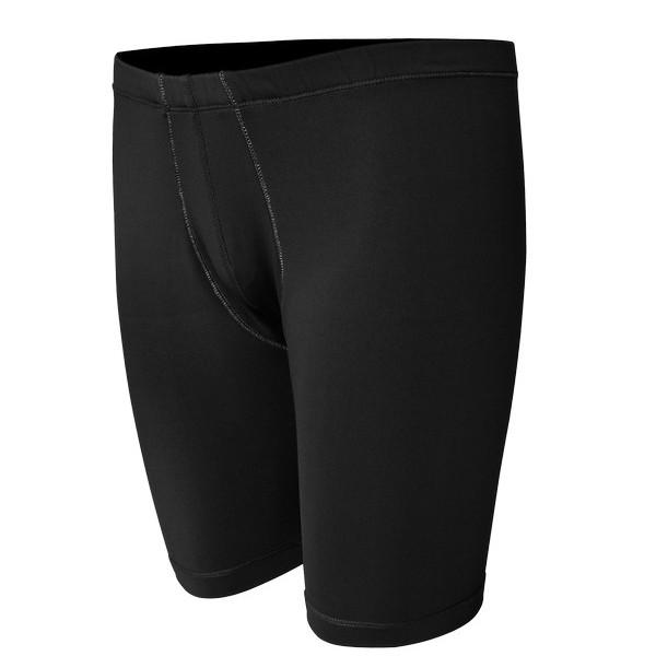 Base Layer Short Pants -Black-Depan