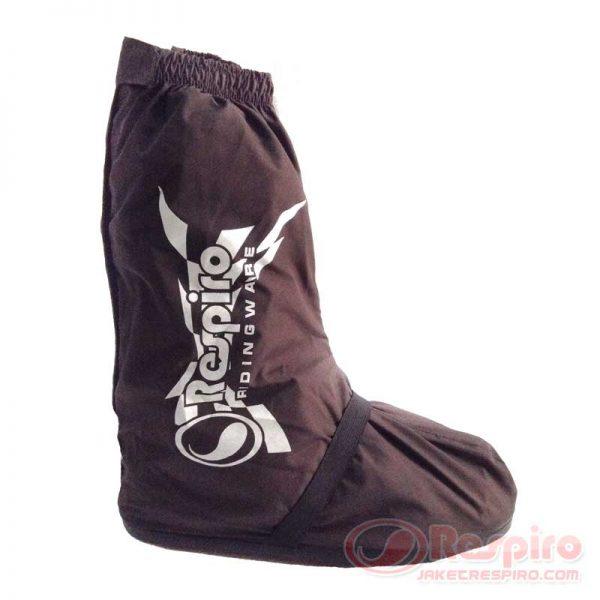 Rain-Shoes-Coklat-Samping
