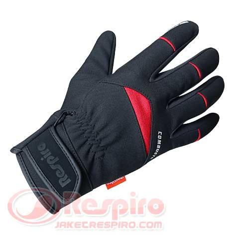 Combusto-Black-Red-Depan