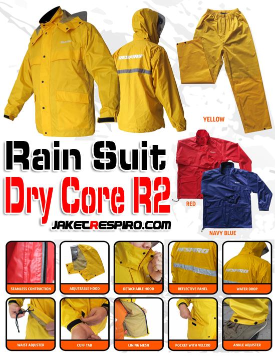 Jas Hujan Dry Core R2