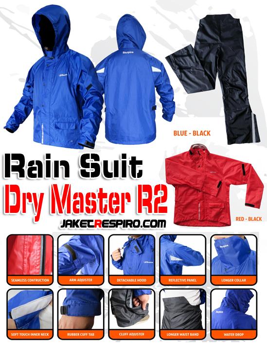 Jas Hujan Dry Master R2