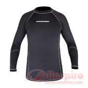 respiro-1-base-layer-shirt-black-grey-depan