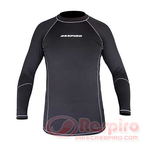 respiro-1-base-layer-shirt-black-grey-depan