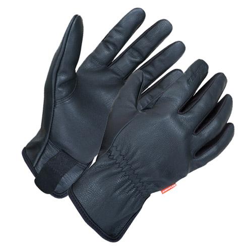 Sarung-Tangan-Kulit-Respiro-Glove-2-GR-04-Estrelo-LM-Black-Depan1