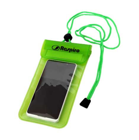 Mobile-Dry-Bag-4-inch-Green