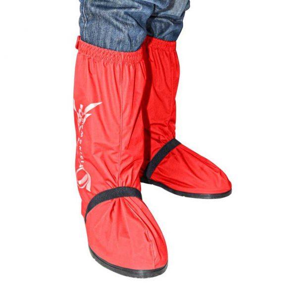 Rain-Shoes-Red-Depan
