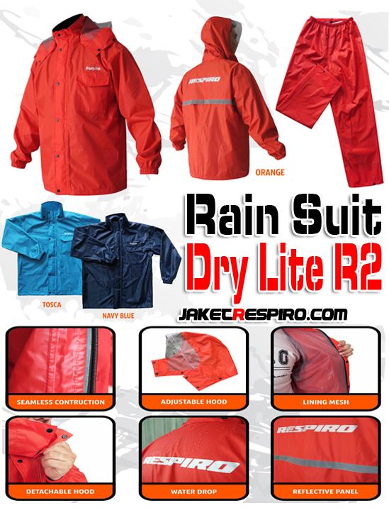Jas Hujan Dry Lite R2