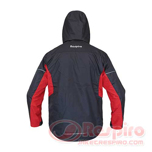 jaket-motor-respiro-4.-Essenzo-Signavent-R1-Black-Red-Belakang